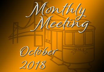 Monthly Meeting – October 2018
